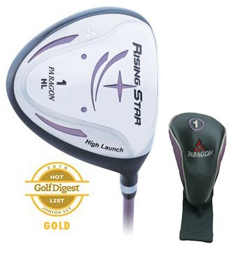 Paragon Golf Rising Star Girls Junior Driver Ages 8-10 Lavender / Right-Hand