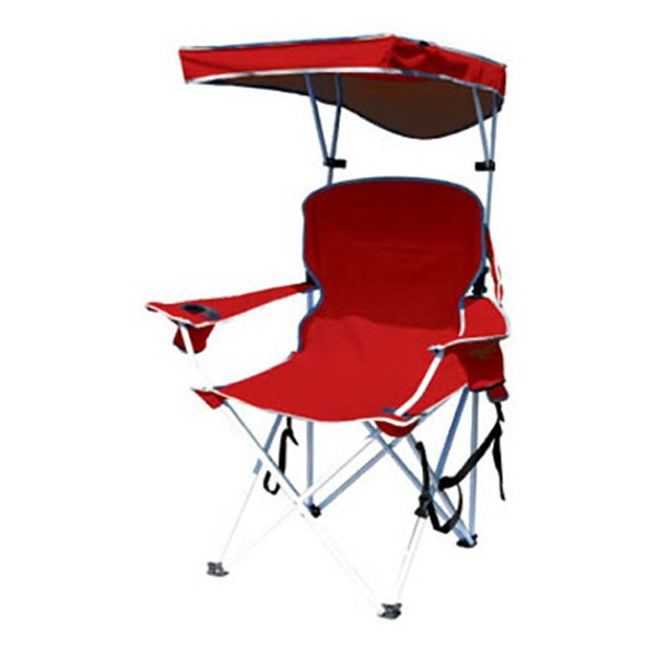 Shelterlogic 149578 Shade Chair With Canopy & Carry Case, Red, Polyester