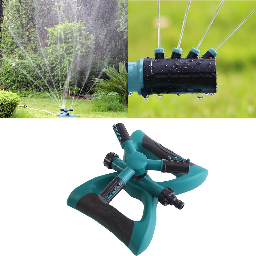 Dilwe Rotary 3 Arms Garden Plants Vegetable Watering Sprinkler Multi-use Lawn Irrigation System, Garden Sprinkler, Sprinklers