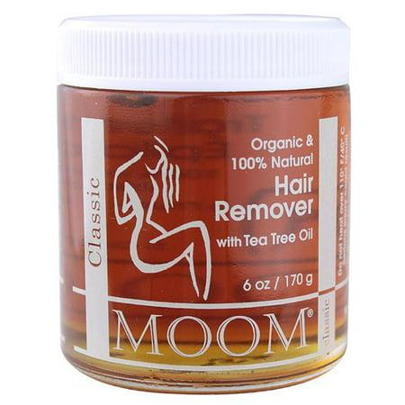 Moom Organic Hair Remover (Moom Organic Hair Remover, Tea Tree, 6)