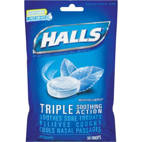 Halls Mentho-Lyptus Flavor 30 Drops