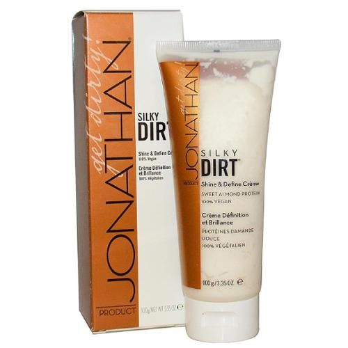Jonathan Product Silky Dirt, Shine & Define Creme 3.35 oz (Pack of 3)