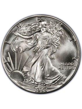 1988 American Silver Eagle 1 oz Silver Coin