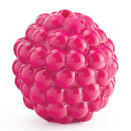 Guaranteed Chew (Orbee Tuff Raspberry, 100% Guaranteed, Tough Chew Toy for Small Dogs, Treat Hole, Small 1.75-Inch, Pink, Extremely Durable, 100% Guaranteed By Planet Dog )