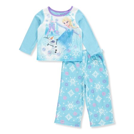 Disney Baby Pajamas (Disney Frozen Baby Girls' 2-Piece Pajamas Featuring Elsa &)
