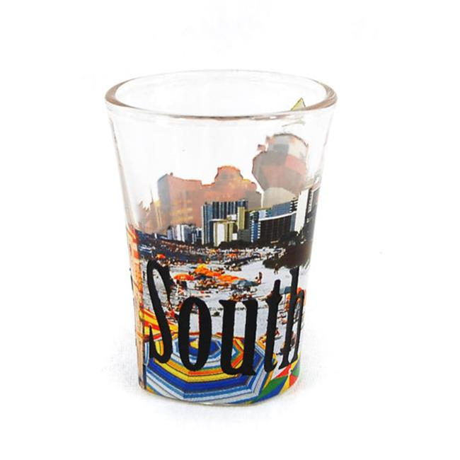 Americaware SGSCA02 South Carolina Full Color Etched Shot Glass by Americaware