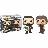 Funko Pop! Game of Thrones Battle of the Bastards - Jon Snow and Ramsay Bolton (2 Pack)