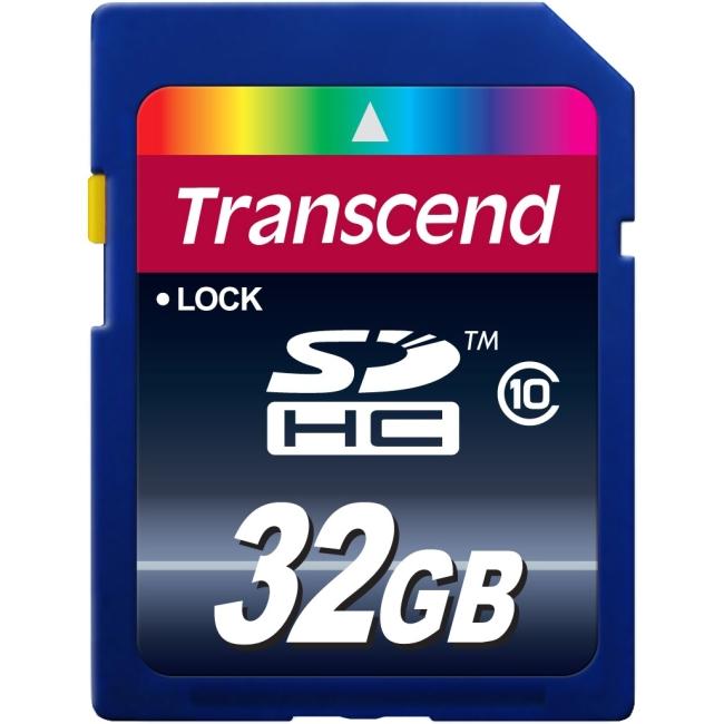Transcend TS32GSDHC10 32 GB SDHC - Class 10 - 1 Card