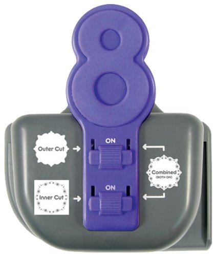Lucky 8 Paper Punch, Snow Globe, Multiple Punching Option...