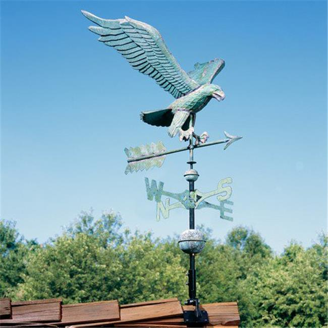Whitehall Products 45038 Eagle Copper Weathervane - Verdigris