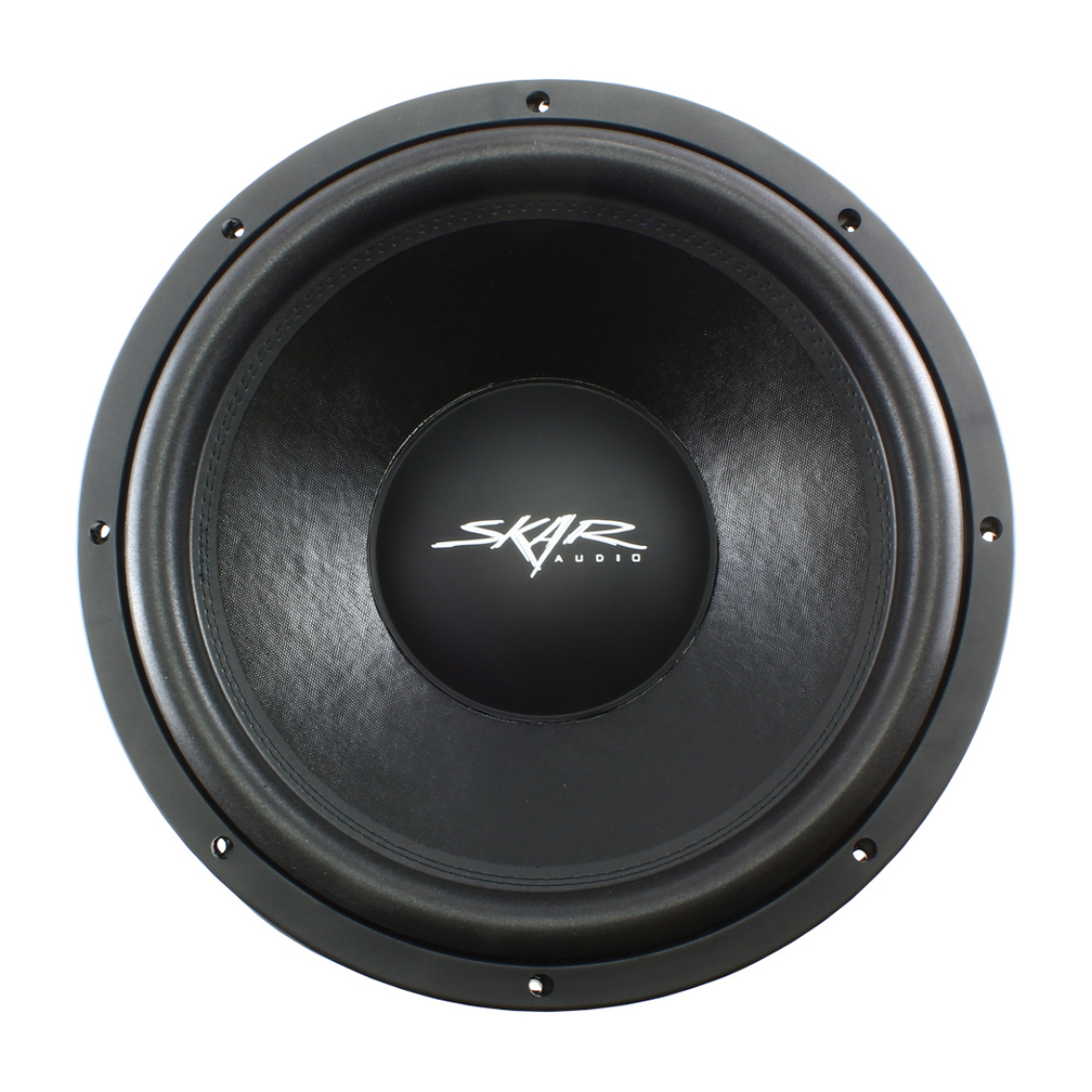 "Skar Audio VD15D4 15"" Shallow Mount Woofer 500W RMS Dual 4 Ohm"
