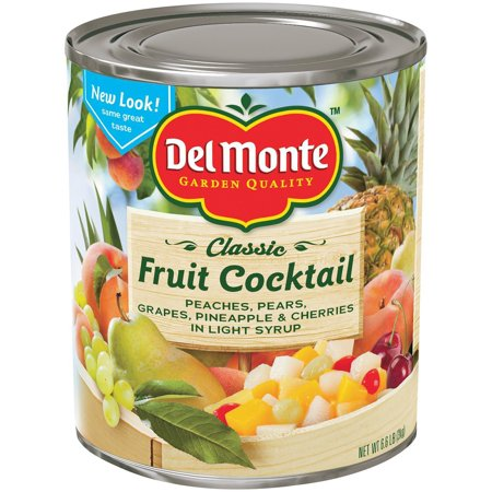 Del Monte Fruit Cocktail in Light Syrup (105 Ounce can) Del Monte Pineapple