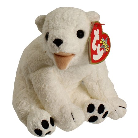- TY Beanie Baby - AURORA the Polar Bear (6.5 inch)
