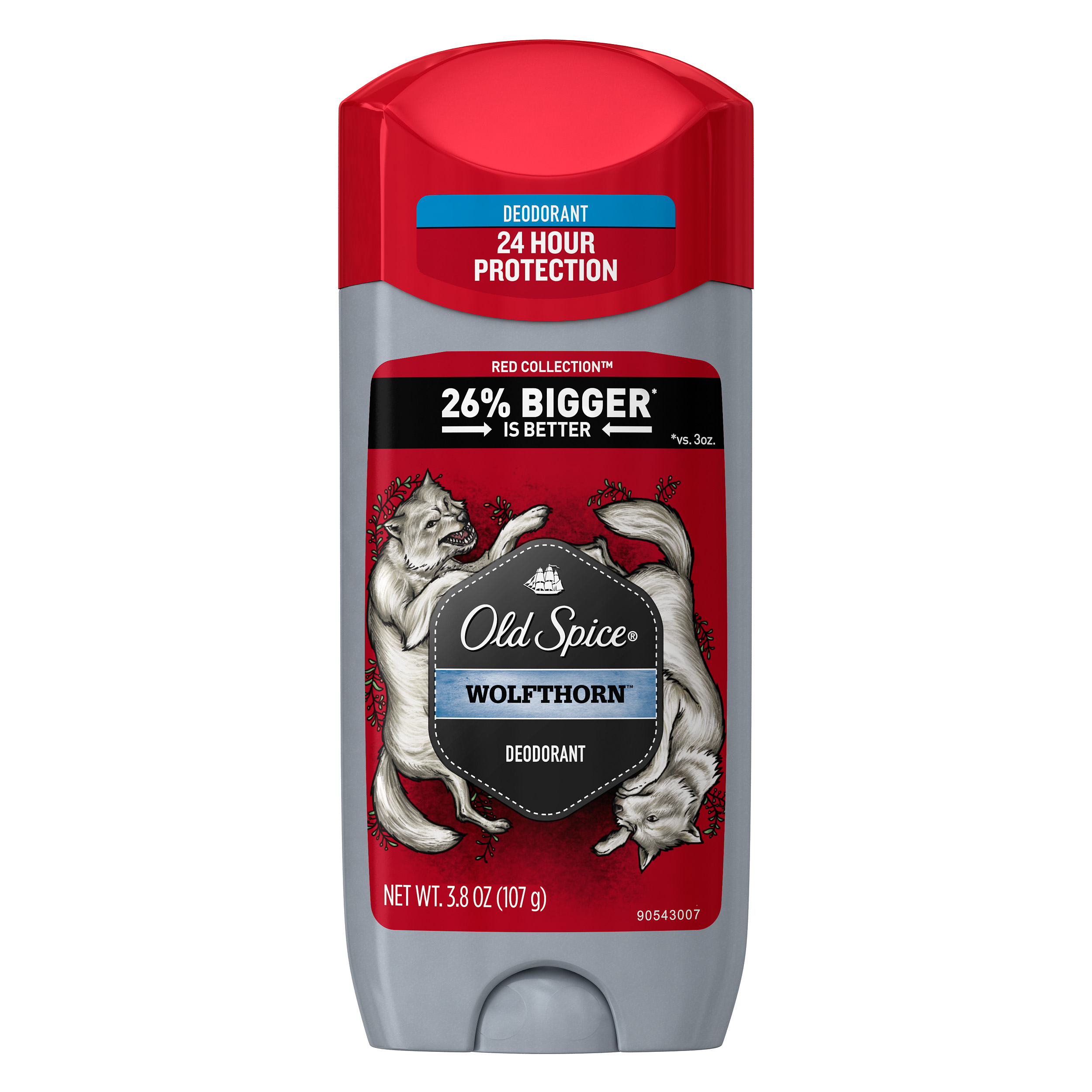 Old Spice Wild Wolfthorn Scent Deodorant for Men, 3.8 oz