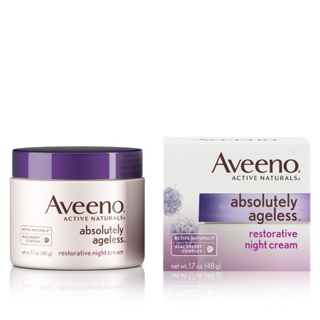 Restorative Creme - Aveeno Absolutely Ageless Restorative Night Face Cream, 1.7 fl. oz