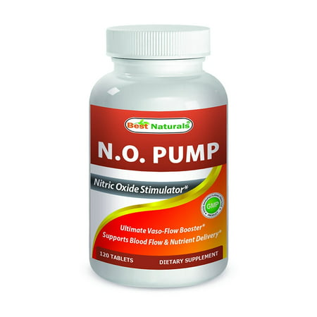 Best Naturals Nitric Oxide NO Pump 3000 mg per Serving 120 (Best Creatine Nitric Oxide Supplement)