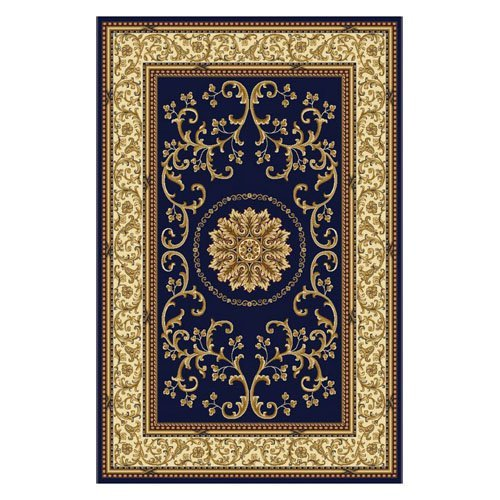 Radici USA Noble II 1419 Lylyan Area Rug - Navy