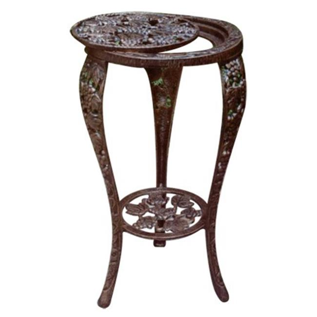 Oakland Living 5027-AB Grape Table Stand Antique Bronze by Oakland Living Corporation
