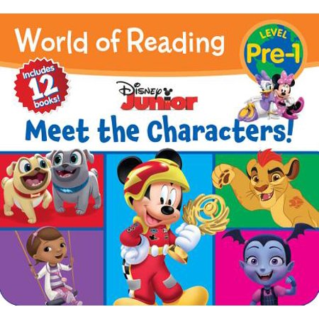 World of Reading Disney Junior Meet the Characters (Pre-Level 1 Box Set) - Disney Character Ideas For Dressing Up