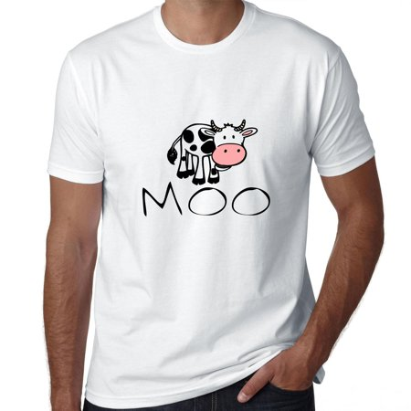 Moo! Cartoon Cow - Super Cute Men