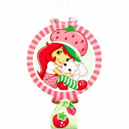 Strawberry Shortcake Party Blowouts [8 per Pack] (Strawberry Shortcake Birthday Supplies)