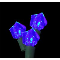 Kellogg Plastics 75311 Holiday & Christmas Indoor & Outdoor LED- Blue - Ice Cube