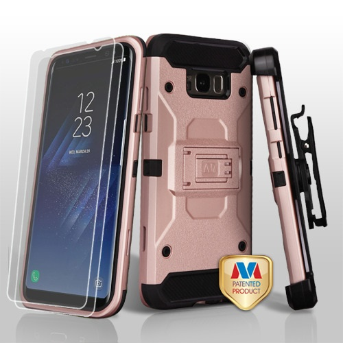 for samsung galaxy s8 plus 3-in-1 kinetic hybrid protector case cover combo