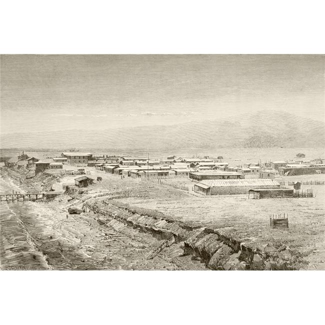 Posterazzi DPI1872509 A 19th Century Overall View of Mejillones, Chile From A 19th Century Illustration Poster Print, 17 x 11 - image 1 de 1