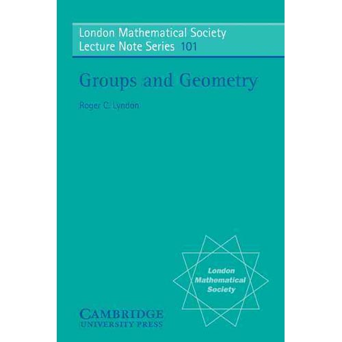 Groups and Geometry