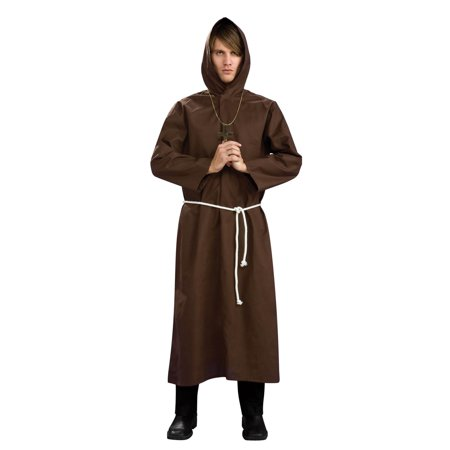 Adult Monk Robe Halloween Costume](Mad Monk Halloween)