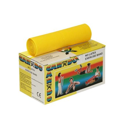 School Specialty 020415 No-Latex X-Light Resistance Band, Yellow 6 -