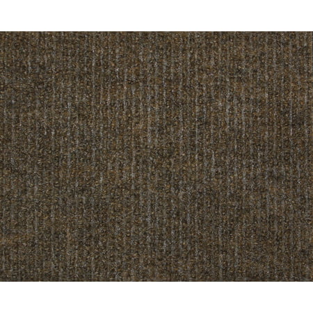 Brown - Economy Indoor Outdoor Custom Cut Carpet Patio & Pool Area Rugs |Light Weight Indoor Outdoor Rug