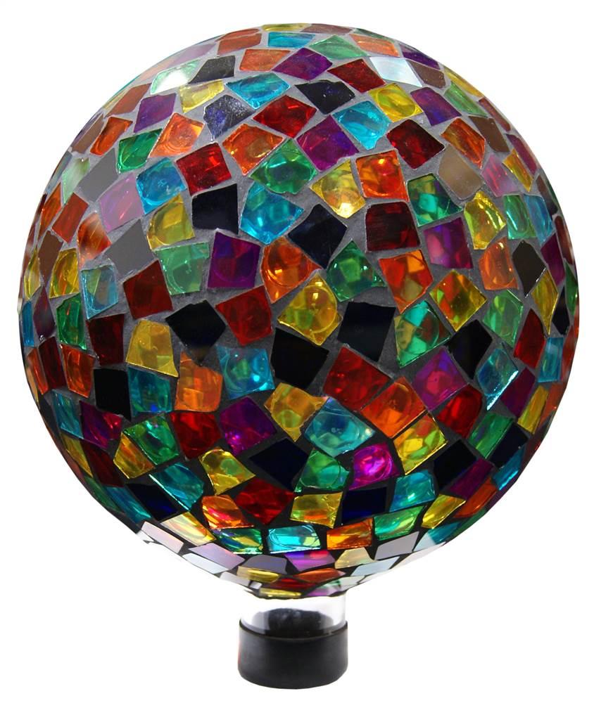 Mosaic Gazing Ball by Benzara Inc