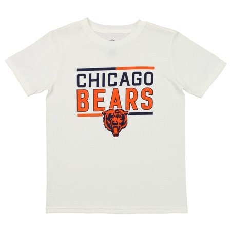 new concept 61a78 09ab5 Outerstuff NFL Youth Chicago Bears Short Sleeve Flag Runner Tee
