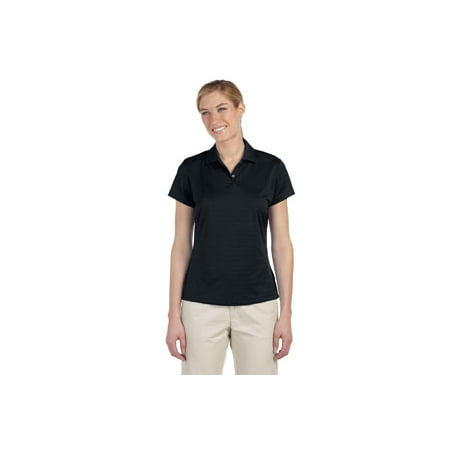 adidas Golf Ladies' climalite Textured Short-Sleeve Polo