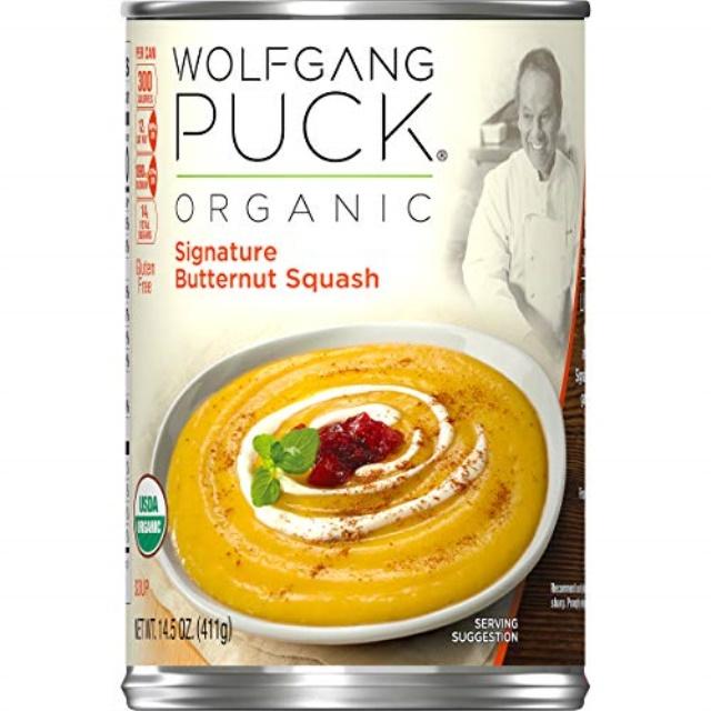 wolfgang puck organic signature butternut squash soup, 14 ...