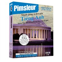 Pimsleur English for Vietnamese Speakers Quick & Simple Course - Level 1 Lessons 1-8 CD : Learn to Speak and Understand English for Vietnamese with Pimsleur Language Programs