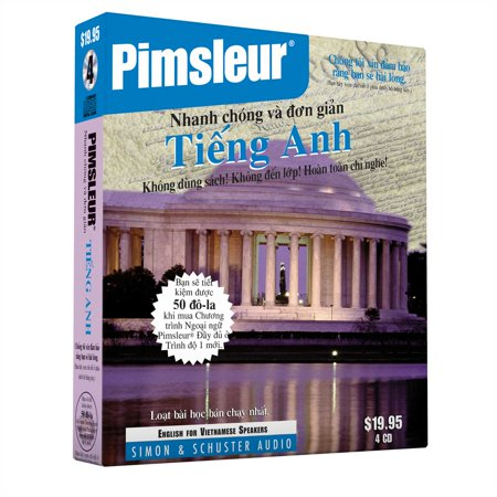 Pimsleur English for Vietnamese Speakers Quick & Simple Course - Level 1 Lessons 1-8 CD : Learn to Speak and Understand English for Vietnamese with Pimsleur Language Programs](English Halloween Lesson)