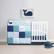 Belle Nautical 4 Piece Crib Bedding Set