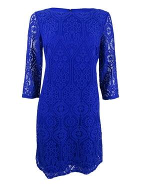 81a5d5588530 Product Image Jessica Howard Women's Petite Lace Shift Dress