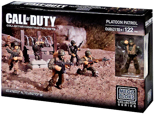 Call of Duty Platoon Patrol Set Mega Bloks 06862 by Mega Brands