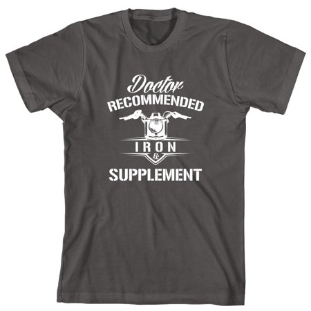 - Doctor Recommended Iron Supplement (Motorcycle) Men's Shirt - ID: 1825