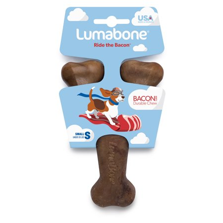 Lumabone Bacon Flavored Wishbone Small