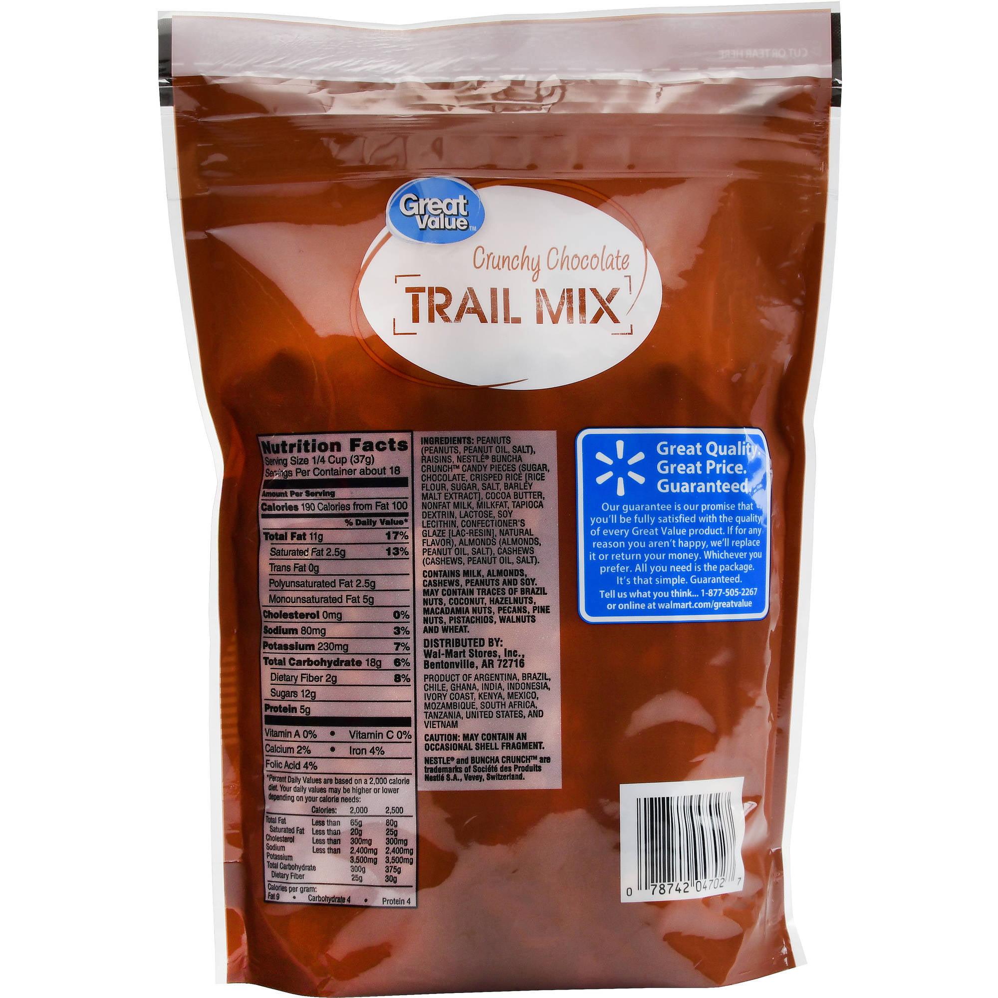 Great Value Trail Mix, Asian Nut Crunch, 20 oz - Walmart