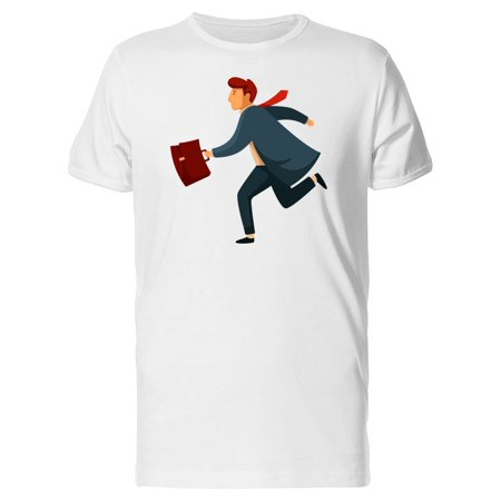 Guy In A Suit Running Tee Men's -Image by Shutterstock](Suits Guys)