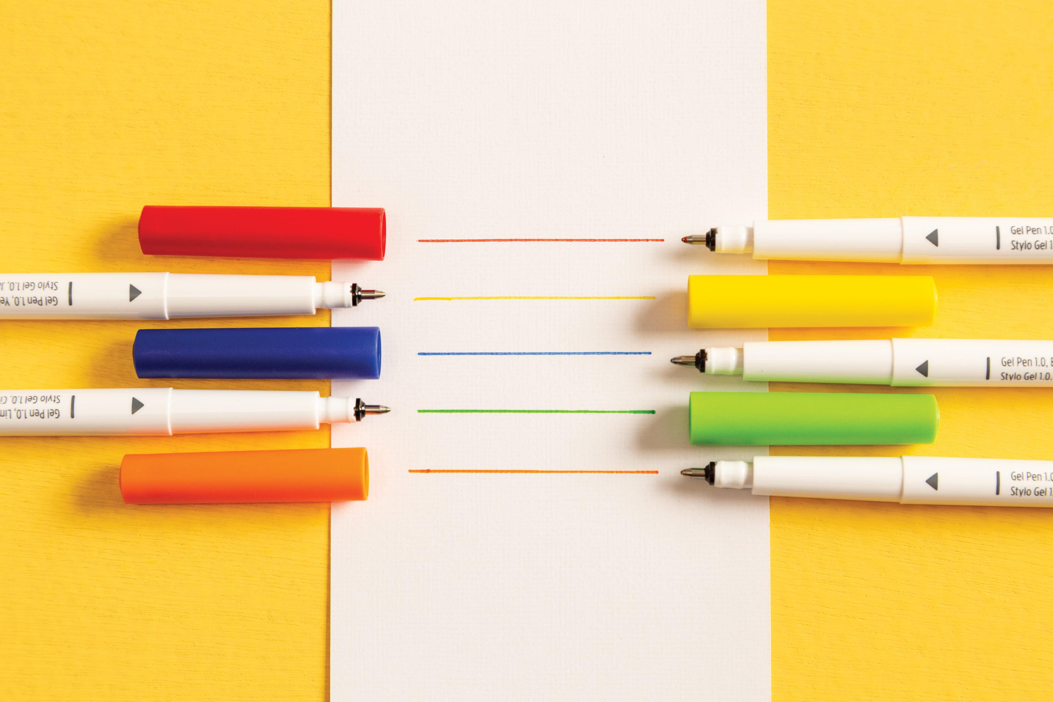 Cricut Gel Pens Fingerpaint
