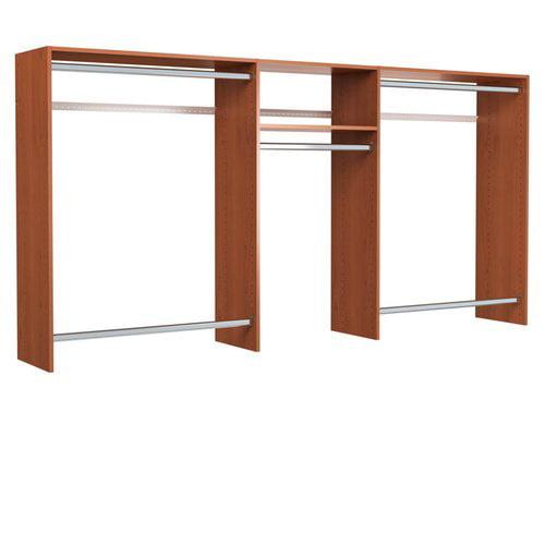 Easy Track 48''W - 96''W Basic Hanging Closet System