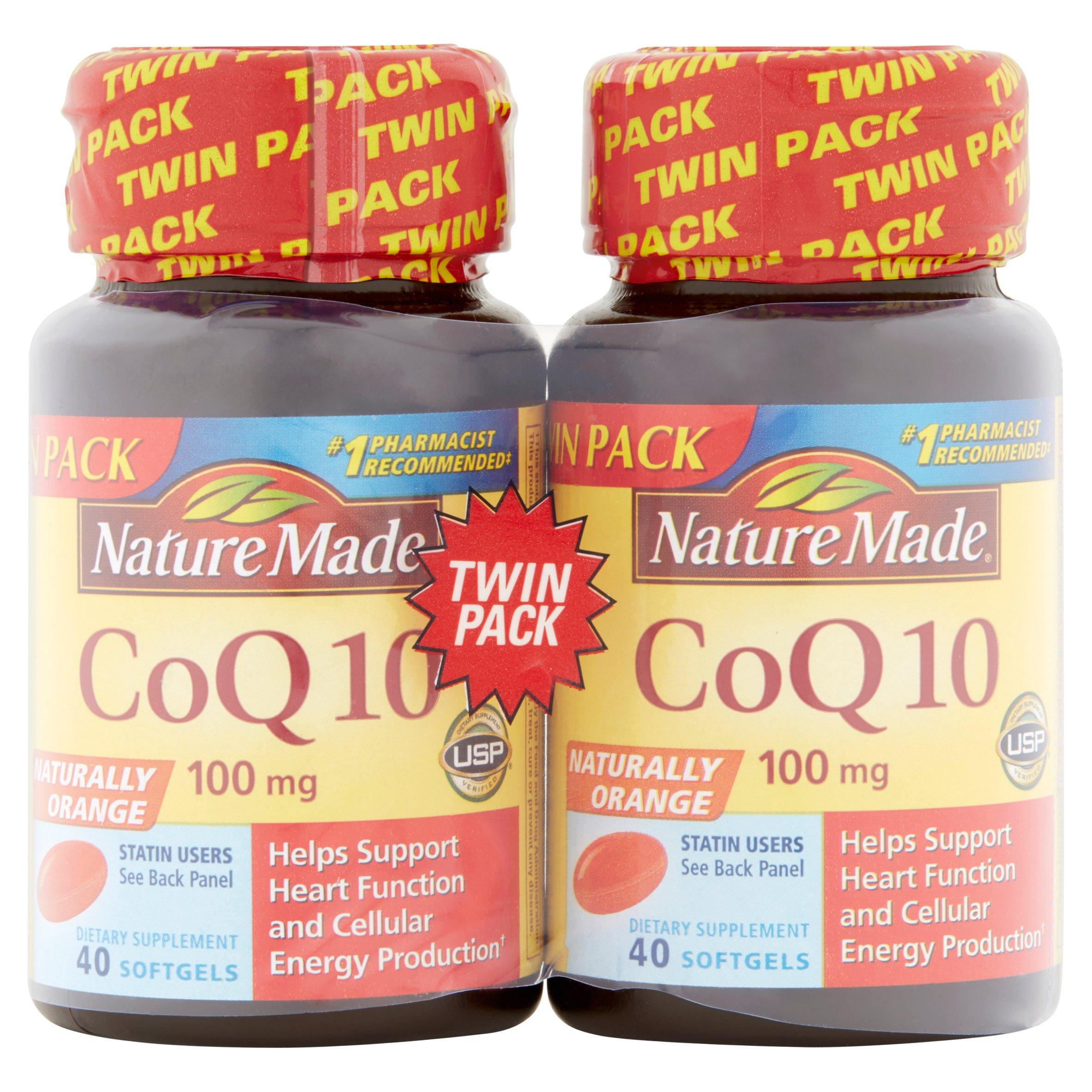 nature made coq liquid softgels ct com