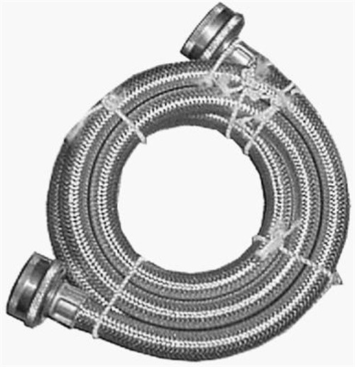 WATTS BRASS & TUBULAR 3 4 Garden Hose x 3 4 Garden Hose x 48-Inch Stainless-Steel Washing... by Homewerks Worldwide Llc