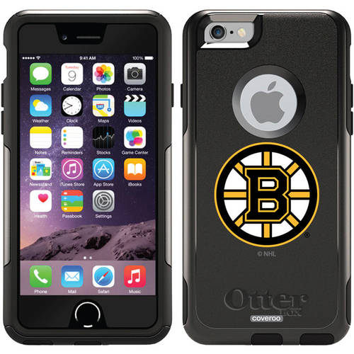 Boston Bruins Primary Logo Design on OtterBox Commuter Series Case for Apple iPhone 6
